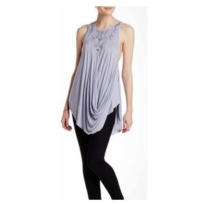Free People ✨ New World Lavender Tunic, small